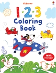 123 First Coloring Book