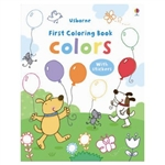 Colors First Coloring Book