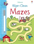 Wipe-Clean Mazes