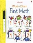 Wipe-Clean First Math