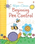 Wipe-Clean Beginning Pen Control