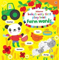 Baby's Very First Playbook Farm Words