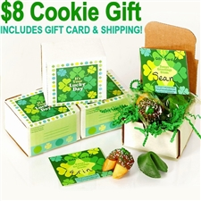 This 2-cookie box is the perfect St. Patrick's Day gift for anyone Irish at heart.