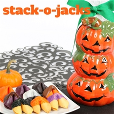 An assortment of spooktacular treats, fruit punch, black raspberry and pumpkin fortune cookies are a ghostly delight.