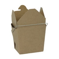 Kraft Colored Chinese Takeout Boxes in 3 great sizes perfect for favors.