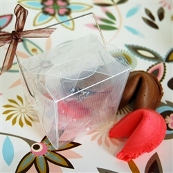 Clear Chinese Takeout Boxes in 3 great sizes perfect for favors.