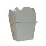 White Chinese Takeout Boxes in 3 great sizes perfect for favors.