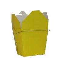Yellow Colored Chinese Takeout Boxes in 3 great sizes perfect for favors.