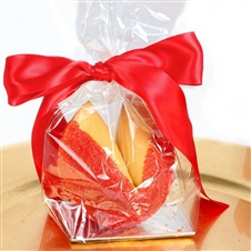 This Chinese New Year Fortune Cookie gift is a sweet treat