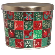 A classic holiday gift tin filled with good fortune and good cheer. This christmas gift tin will bring the spirit of the holidays to anyone you send it to. Perfect for a corporate gift or thank you!