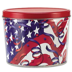 Red, White & Blue fortune cookies show off your pride and gratitude to our military, past and present. Perfect for Veteran's Day, Memorial Day, Fourth of July, and for shipping overseas.