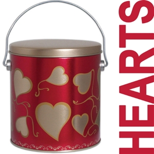 This sweetheart gift tin is stuffed with lots of good fortune and a variety of our gourmet fortune cookies.