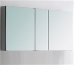 "Kubebath 50"" Wide Bathroom Medicine Cabinet w/ Mirrors"