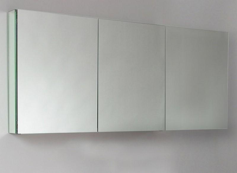 72 Wide KubeBath Bathroom Medicine Cabinet W Mirrors Back Order
