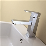 Aqua Piazza Single Lever Bathroom Vanity Faucet - Chrome