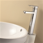 Aqua Soho Single Lever Bathroom Vessel Sink Faucet - Chrome