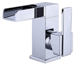 Aqua Fontana Single Lever Waterfall Faucet - Chrome