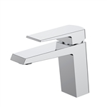 Aqua Chiaro Single Lever Wide Spread Bathroom Vanity Faucet - Chrome