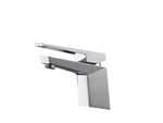 Aqua Siza Single Lever Modern Bathroom Vanity Faucet - Chrome