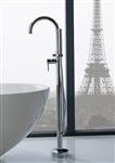 Aqua Floor Mounted Soker Tub Faucet - Chrome