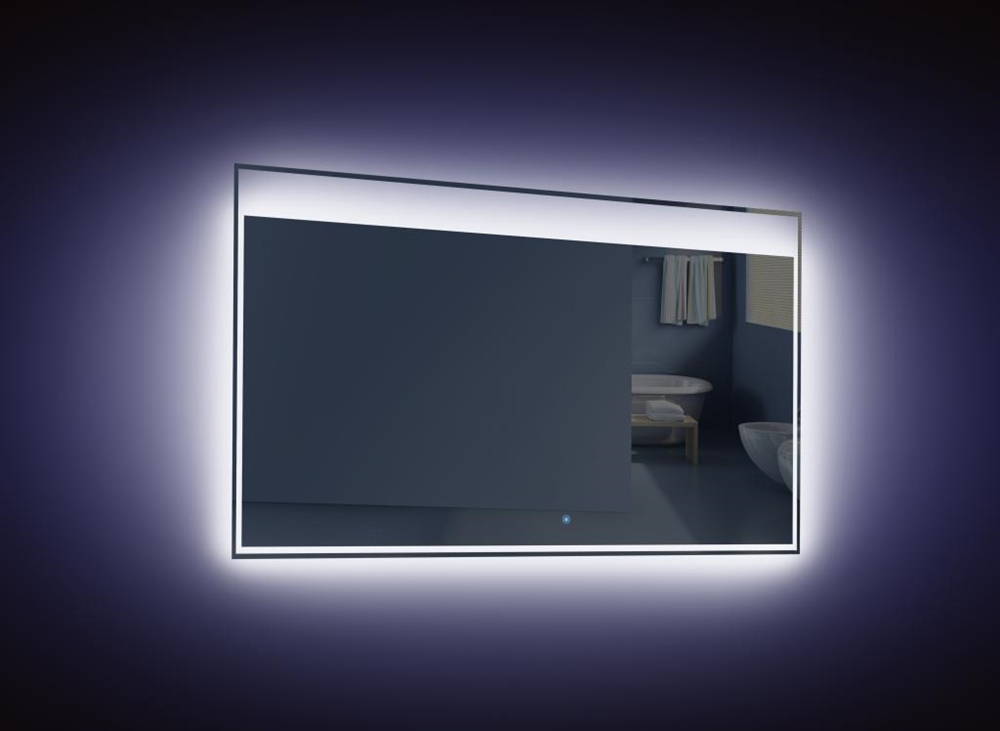 kubebath 48 39 39 wide led mirror. Black Bedroom Furniture Sets. Home Design Ideas