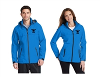 ALL-IN FC Direct Blue Lightweight Rain Jacket