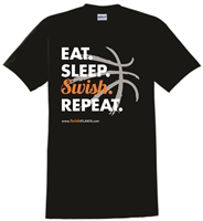 "Swish Atlanta ""Eat Sleep Swish Repeat"" Tee"