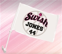 Swish Atlanta Custom Car Flag