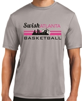 Swish Atlanta Silver Short Sleeve Dri-fit Tee