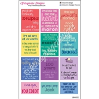 TV Quote Stickers - Gilmore Girls Inspired