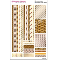 Fall Decoration Kit - Set of 23