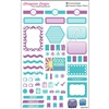 KAD Weekly Planner Set - Purple and Blue