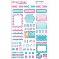 KAD Weekly Planner Set - Cotton Candy