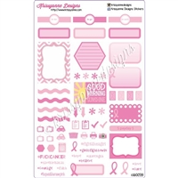 KAD Weekly Planner Set - Breast Cancer Awareness