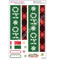 KAD Weekly Decoration Set - EC - Christmas Plaid