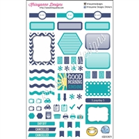 KAD Weekly Planner Set - EL Blue