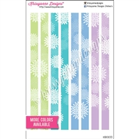 KAD Decoration Set - Personal Size Decoration Strips - Mums - Set of 8