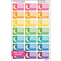 Sweet Dreams Darling Half Boxes - Set of 21