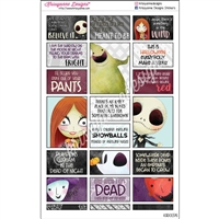 Halloween Quote Stickers