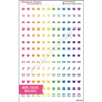Mini Cutout Icons - Mix - Set of 168