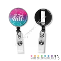 KAD Badge Reel - Stay Wild