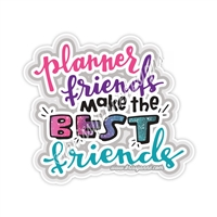 KAD Decal - GW 2018 Planner Friends Decal