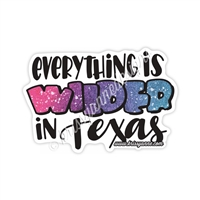 KAD Decal - Wilder in Texas Decal