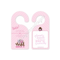 GO Wild 2017 Pink Door Hanger - Planner Friends