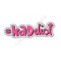 Enamel Flair Pin - #KADdict