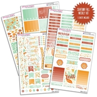 KAD Weekly Planner Kit - Seafoam Fall