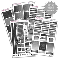 KAD Weekly Planner Kit - Dark Lace