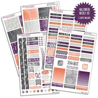 KAD Weekly Planner Kit - Halloween