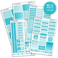 KAD Weekly Planner Kit - Winter Lace