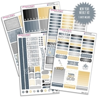 KAD Weekly Planner Kit - New Year, New You
